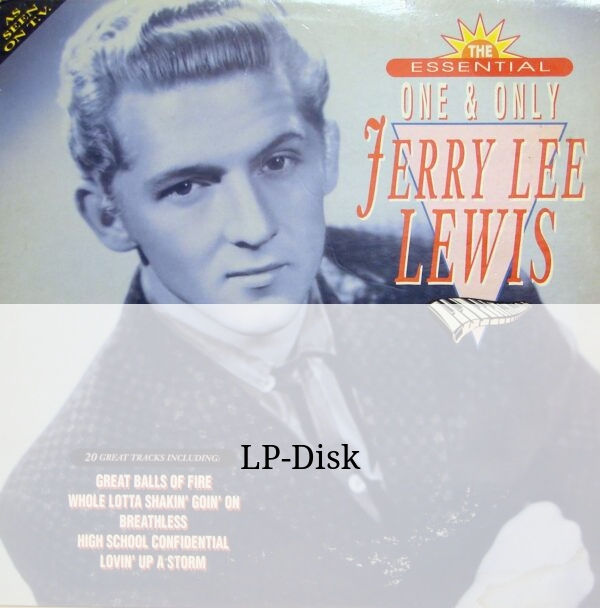 Виниловая пластинка Jerry Lee Lewis – The essential one and only